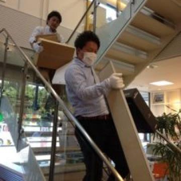 事務所の大掃除!!