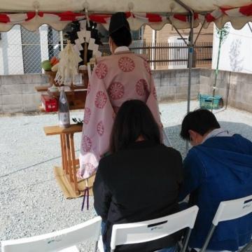 『K様邸 地鎮祭を執り行いました♪』明石・西区・稲美町 注文住宅